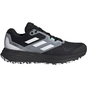 adidas TERREX Speed Flow Trail Running Shoes Women, core black/crystal white/clear mint